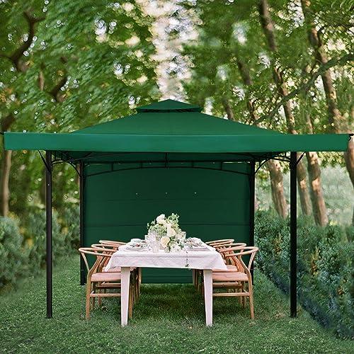 KITADIN 11'x11' Gazebo Tent Outdoor Canopy Shelter