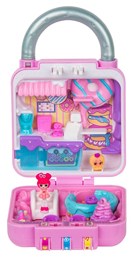 ad9e93cd8be Amazon.com  Shopkins Lil  Secrets Secret Lock - Donut Stop  Toys   Games