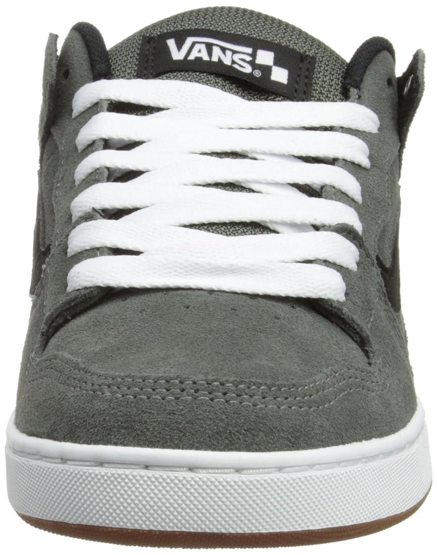 Amazon.com | Vans Baxter S12 Men's Shoes Charcoal Black white |  Skateboarding