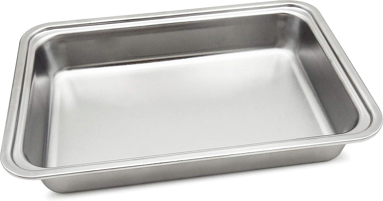 Spice bandeja de n.1 de acero inoxidable para hornillo Portátil inoxidable Trio + DV spp030 y spp030-dv