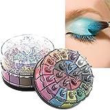 Ecurson Shimmer Glitter Eye Shadow Powder Palette