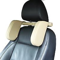 HEAPANY Car Seat Headrest Pillow, 360° Adjustable Car Seat Head Neck Support Rest Cushion, Travel Car Sleeping Pillow…