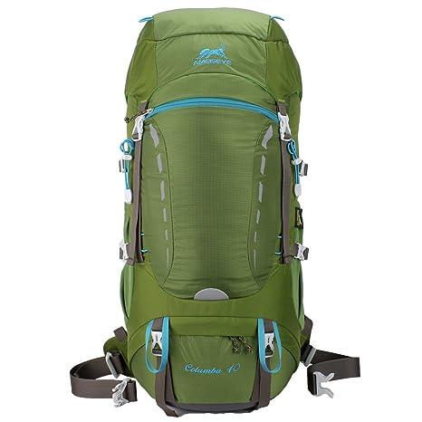 Eshow Zaino Unisex 40 Litri Impermeabile Leggero Copertina Antipioggia  Trekking Outdoor Sport Alpinismo Escursionismo Campeggio Viaggio 6e2d374ba0fe