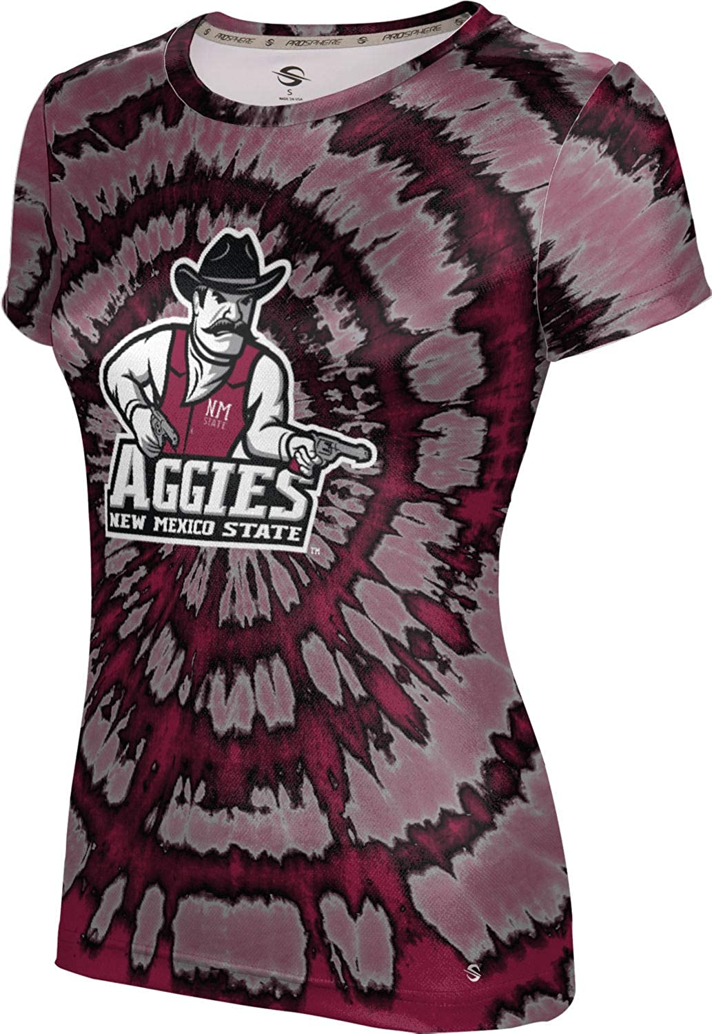ProSphere New Mexico State University Mens Performance T-Shirt Tie Dye
