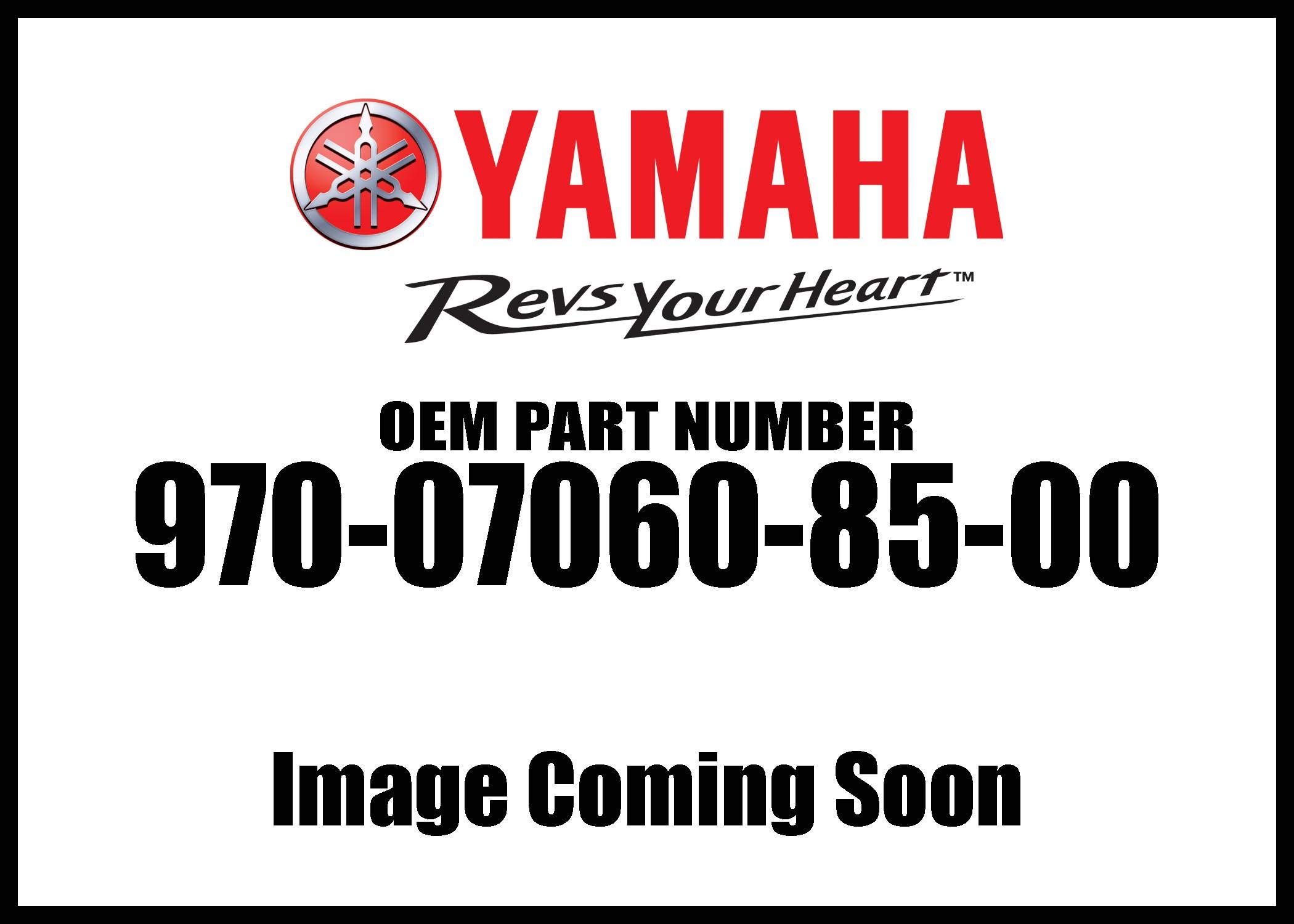 Yamaha Bolt3pt 970-07060-85-00 New Oem