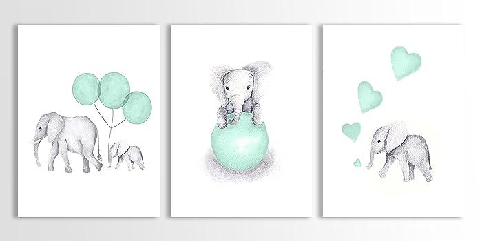 room elephant l baby nursery chevron by decor