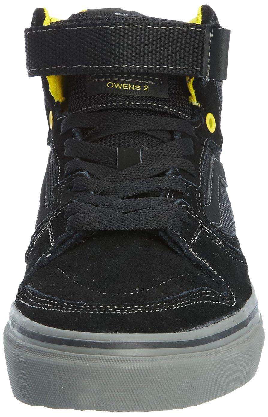 28c025fe330b78 Vans Owens 2 Hi - Zapatillas de ciclismo de cuero para hombre negro Black  Cyber 41.5  Amazon.es  Zapatos y complementos