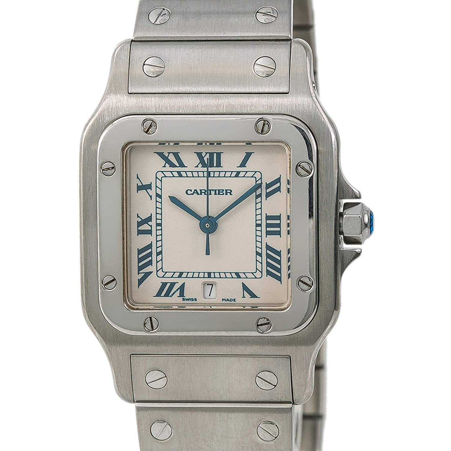 686dd639c2a5 Cartier Santos Galbee Quartz Male Watch 1564 (Certified Pre-Owned)  Cartier   Amazon.ca  Watches