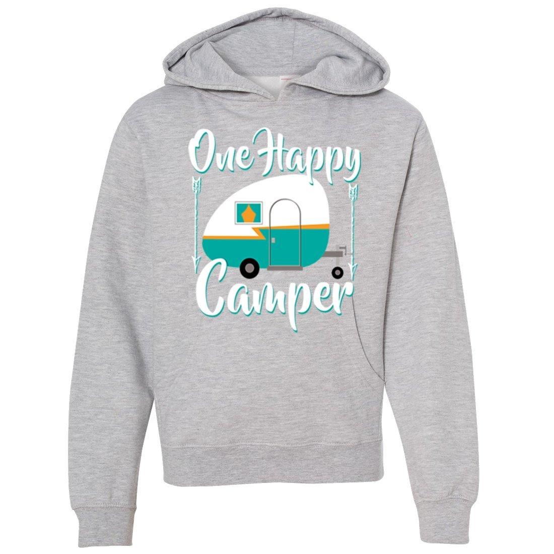 Happy Camper Premium Youth Sweatshirt Hoodie
