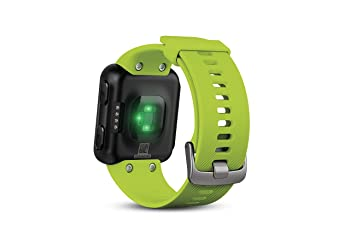 Monitors heart rate through the wrist