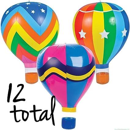Amazon.com: (12) globo de aire caliente inflable Blow UPS ...