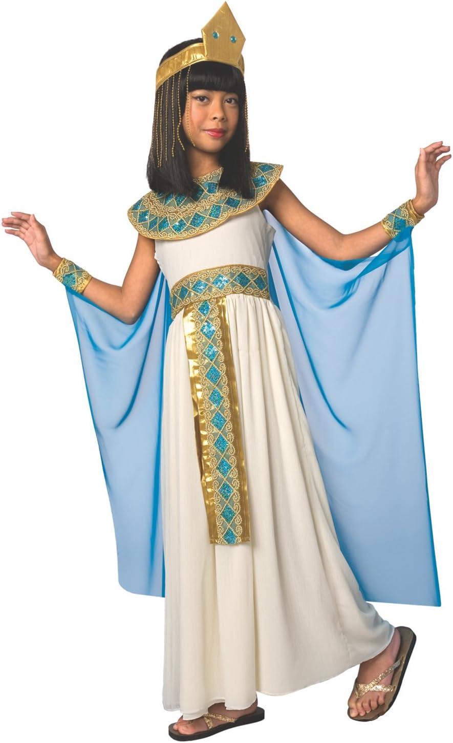 Costume da regina egiziana Cleopatra Nefertari bambina
