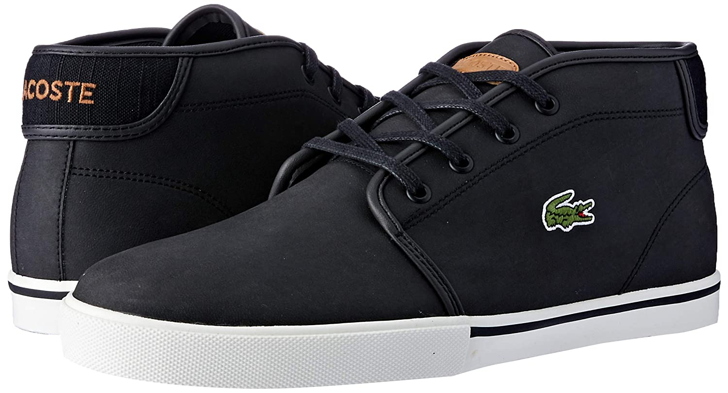 Lacoste Mens Ampthill 119 1 CMA Hi-Top Trainers