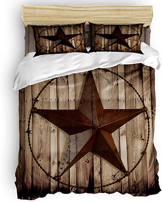 Amazon.com: Picpeak Home Bedding Set 4 Piece Duvet Cover Set King