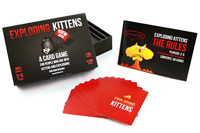 Amazon Exploding Kittens Nsfw Edition Explicit Content