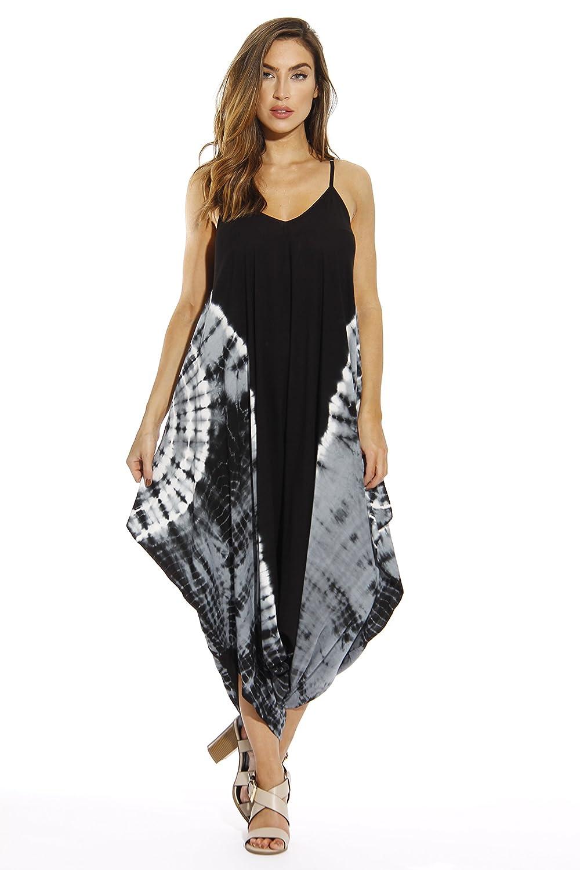220463582d5 Amazon.com  Riviera Sun Harem Jumpsuit Jumpsuits for Women Romper  Clothing