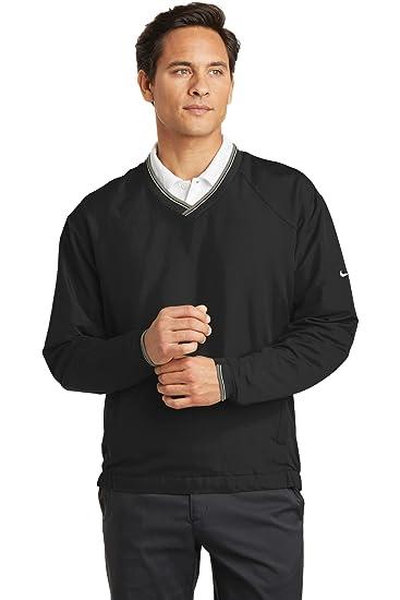 16a54e28c395 Amazon.com  Nike Golf - V-Neck Wind Shirt  Clothing
