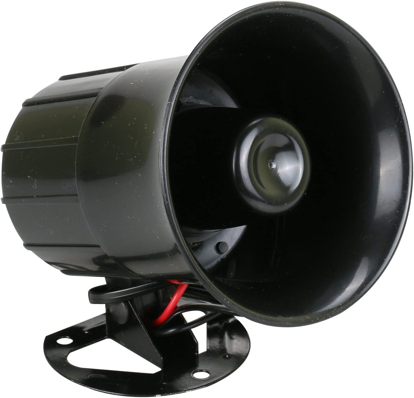 30W Home Security System Alarm Siren,Emergency with Wired Annunciator Horn Sound System for Home Security Protection