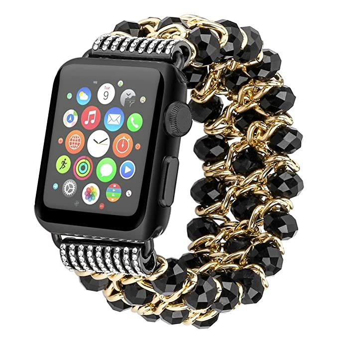 Daze for Apple Watch Band - Pulsera elástica de imitación de ...