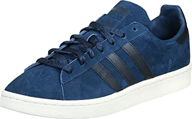affordable price 50% price outlet adidas Originals Campus Mens Trainers Sneakers (UK 7.5 US 8 EU 41 1/3, Blue  Navy White BB0087)