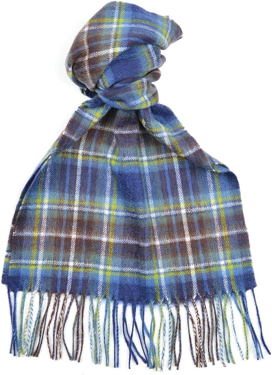 Lambswool Scottish Clan Scarf Holyrood Modern Tartan