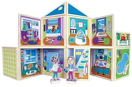 Build Imagine Malias House Award Winning Magnetic Dollhouse You Design Yourself