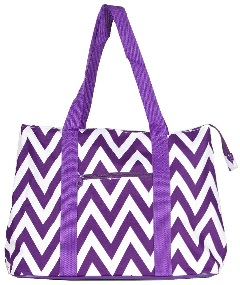 Ever Moda Chevron Tote Bag X-Large by Ever Moda (Image #2)