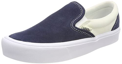 Vans Men s Adults  Lite Slip On Trainers Blue ((Two-Tone) Dress ... 8ab098a97