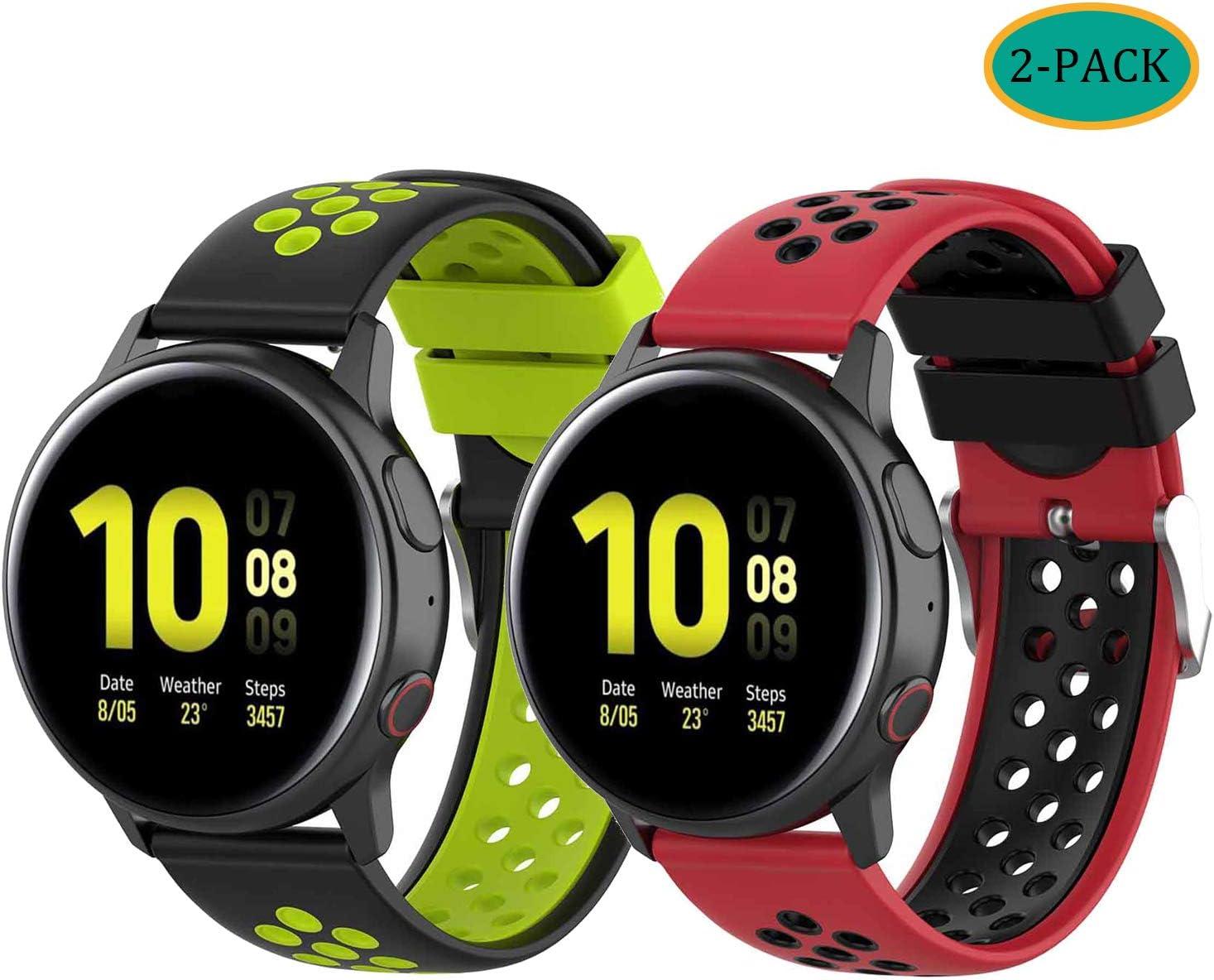 Mallas Para Reloj Garmin Vivoactive 3 Music (2 Unidades)