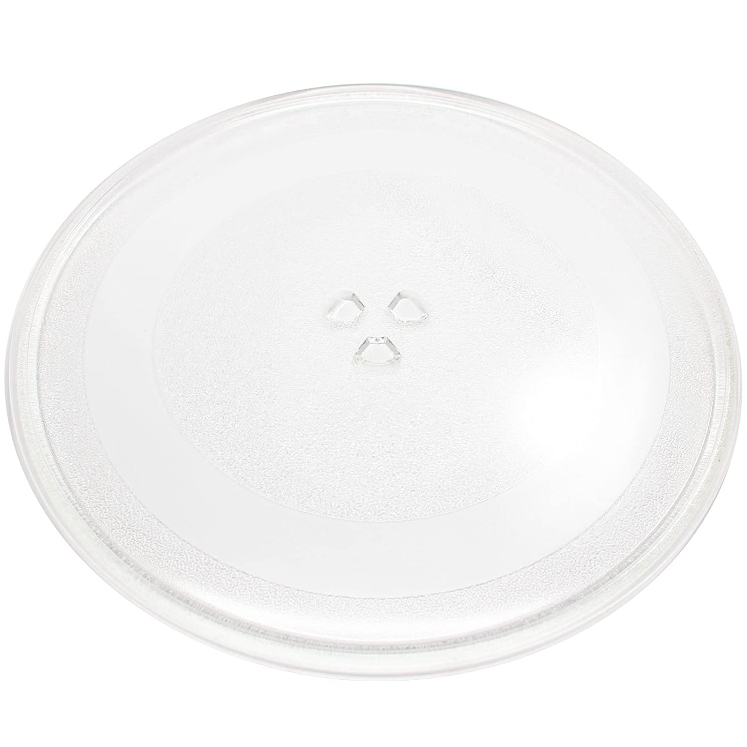 """Replacement General Electric/G.E. PVM1790SR1SS Microwave Glass Plate - Compatible General Electric/G.E. WB49X10114 Microwave Glass Turntable Tray - 13 1/2"""" (345mm)"""