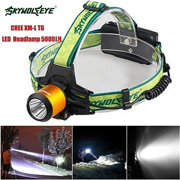 Mini 3 Mode Design COB-LED-Scheinwerfer-Kopf-Lampe-Licht-Fackel-Taschenlampe