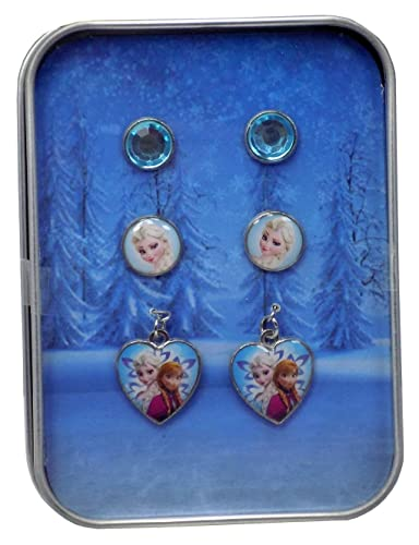 prezzi al dettaglio seleziona per genuino fama mondiale Disney Frozen set orecchini: Amazon.it: Gioielli