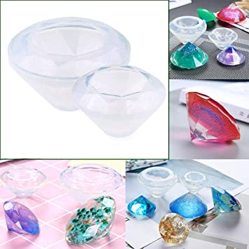 ARTSTORE Diamond Liquid Resin Molds for Polymer Clay,Crafting,Resin  Epoxy,Jewelry Making