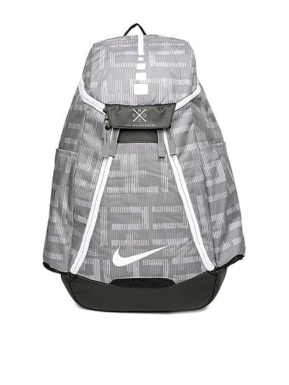 87e449be17 Nike 20 Ltrs Gunsmoke Black White Casual Backpack (BA5260-036)  Amazon.in   Bags