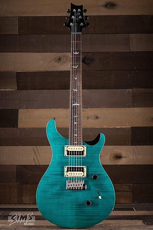 PRS SE Custom 24 - Sapphire - 2020: Amazon.es: Instrumentos musicales