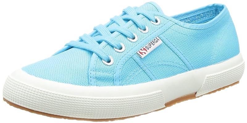 Superga 2750 Cotu Classic Sneakers Low-Top Unisex Damen Herren Hellblau (Turquoise)