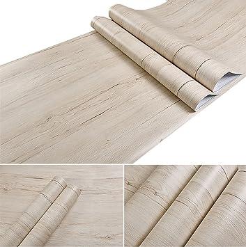 Glow4u Holz-Kontakt Papier selbstklebend Regal für Küche Schränke ...
