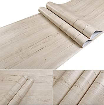 Glow4u Holz Kontakt Papier Selbstklebend Regal Fur Kuche Schranke