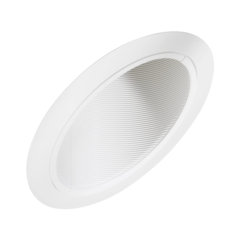 juno lighting 604w wh 6 inch super slope downlight white baffle