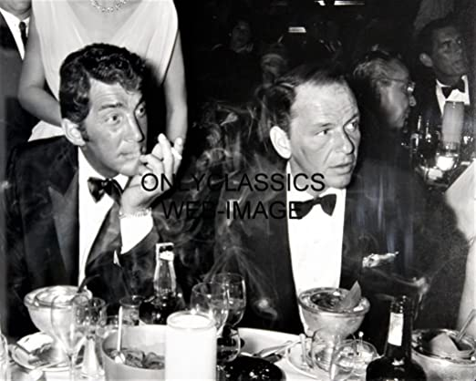 PRESIDENT JOHN F KENNEDY /& FRANK SINATRA 8X10 PHOTO PICTURE JFK