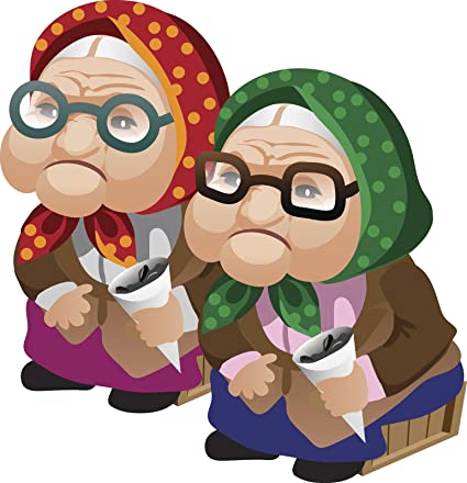 Amazon Com Cute Old Grandma Twin Sisters Best Friends Cartoon Emoji