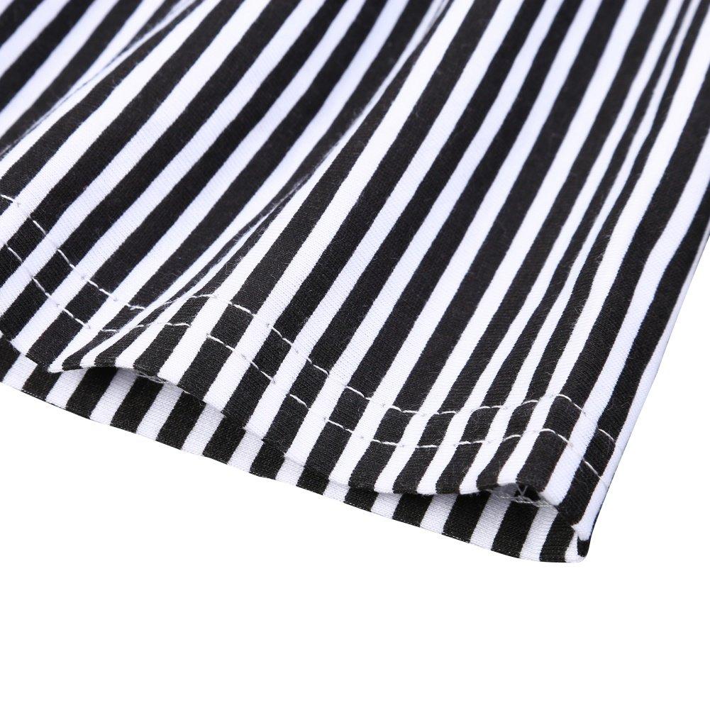 fa936df6e6b3 BOBORA Baby Boy Kids Summer Clothes Set Cartoon Whale Short Sleeved Tops  with Elastic Striped Short Pants BO-UK072