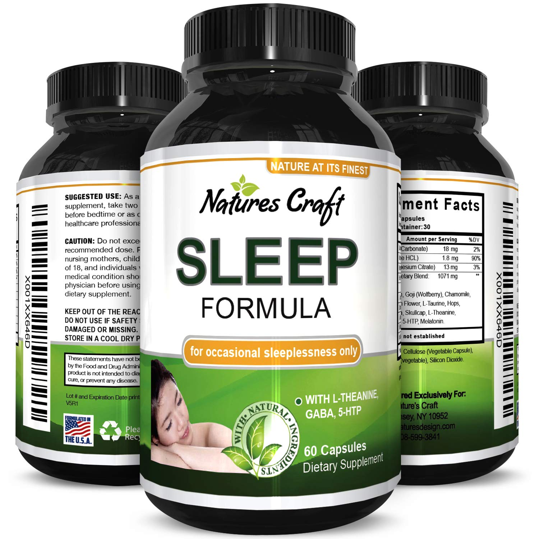 Best Natural Revitalizing Sleep Formula - End Fatigue - Supports Deep Uninterrupted Sleep - Non Addictive