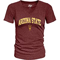 Blue 84 Womens Heathered Team Color Confetti T Shirt