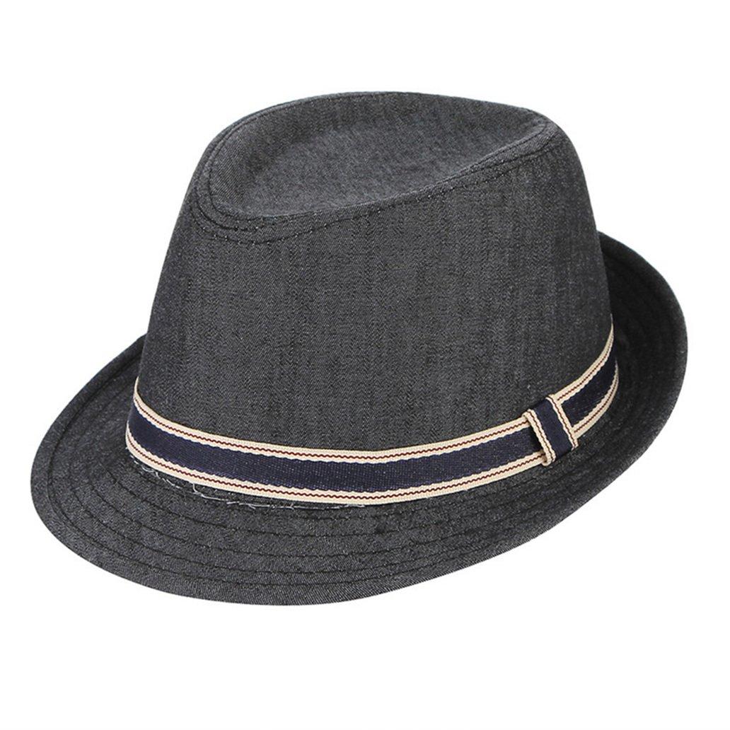 Mens Sun Hats Summer Cotton Vuntage Fedoras Hats Fashion Jazz Caps