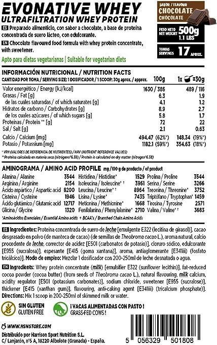 Proteína de Suero Leche Nativa Evonative de HSN   Native Whey ...