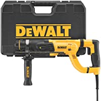 DEWALT Rotary Hammer, SDS with Shocks, D-Handle, 1-Inch (D25262K)