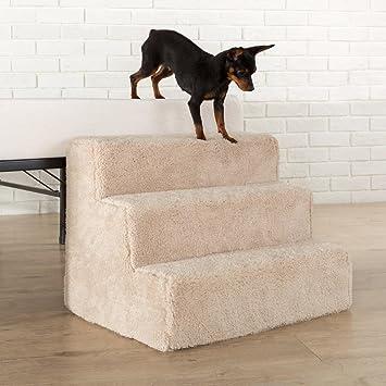 Sleep Revolution 3 Step Comfort Foam Pet Stairs/Pet Ramp/Pet Ladder