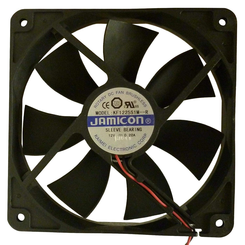 Ventilador de refrigeración 12 V DC JAMICON PC caso ventilador 120 ...