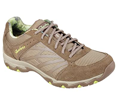 Skechers Relaxed Fit Quartz Womens Sneakers Brown 65